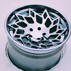 "Chrome MD1 19"" wheels"